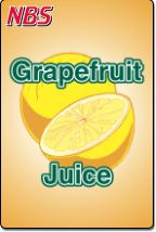Grapefruit Juice UF-1 Fountain Valve Decal, VI05643067