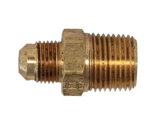 Brass 3/8 MFL X 1/2 MPT Connector