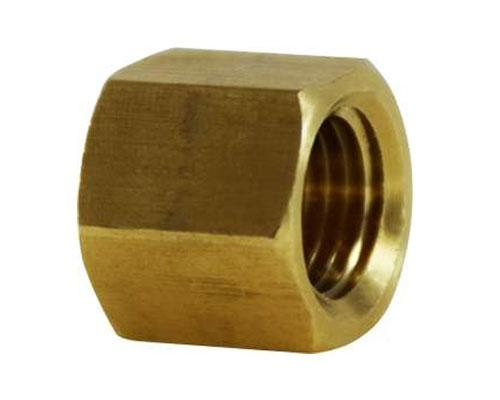 Brass 1/8 FPT Pipe Cap