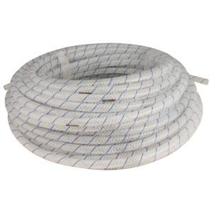 "548WD-100: 1/4"" I.D. 100' Clear Braided Vinyl Hose, .438"" OD (uses clamp size 13.3)"