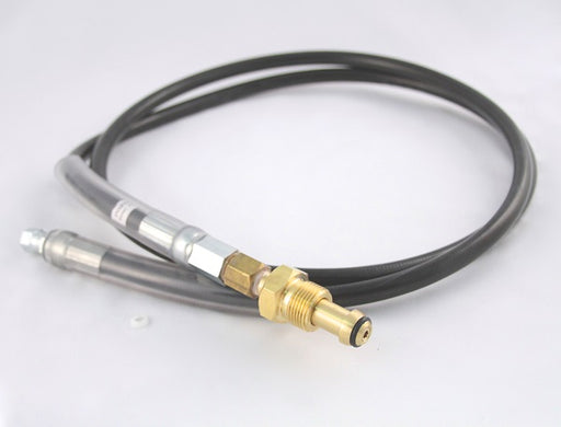 7000-6ANIT, High Pressure Hose Assembly, 6' Length, 1/4 Female Flare x CGA580 N2 Fitting