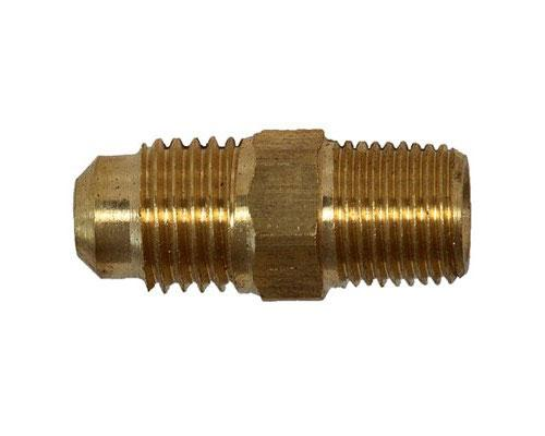 Brass 1/4 MFL X 1/8 MPT Connector