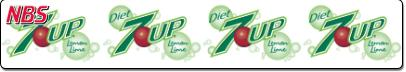 7UP Diet Syrup Line Marker, FS04ER9583