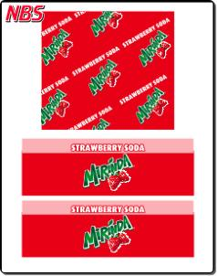 Mirinda Strawberry Soda BIB Line Marker,CP011226