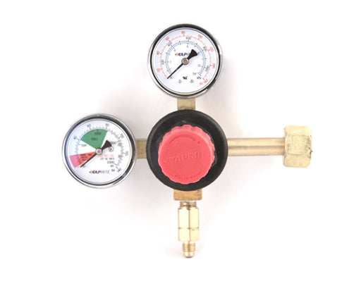 T5741PMHP  1P (Pressure) X 1P (Product), 160lb & 2000lb gauge, ¼ flare with check valve, red cap