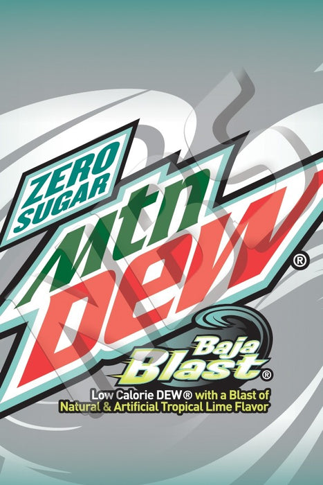 Mountain Dew UF1 Decal