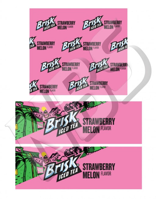 Lipton Brisk Strawberry Melon BIB Marker