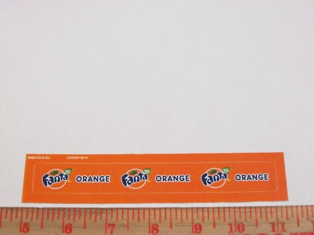 Fanta Orange Syrup Line Marker