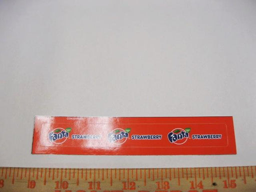 Fanta Strawberry Syrup Line Marker
