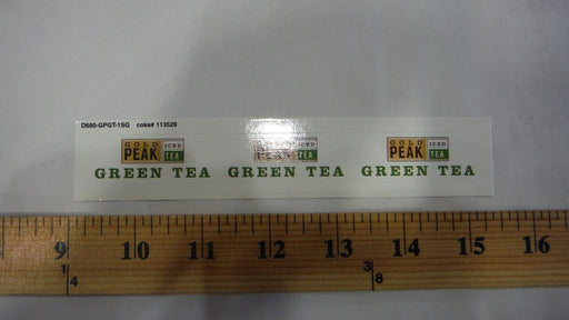 Gold Peak Green Tea Syrup Line Marker