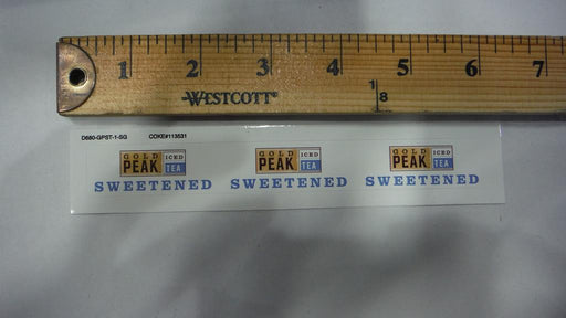 Gold Peak Sweetened Iced Tea Syrup Line Marker