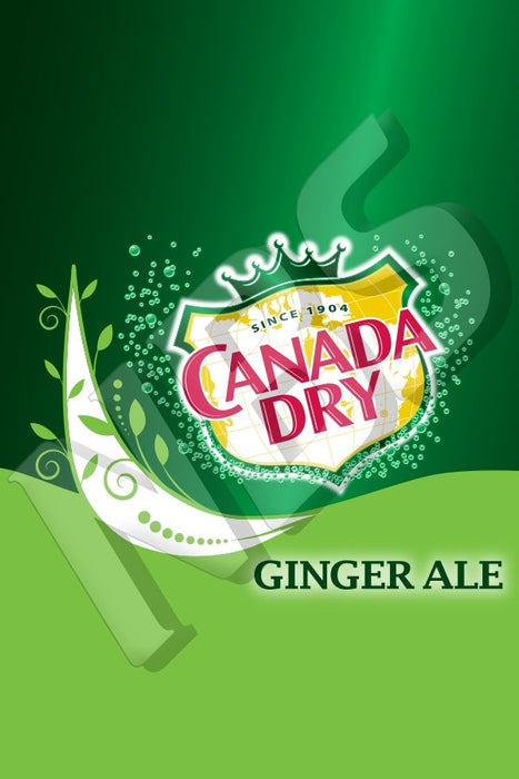 Canada Dry UF1 Decal
