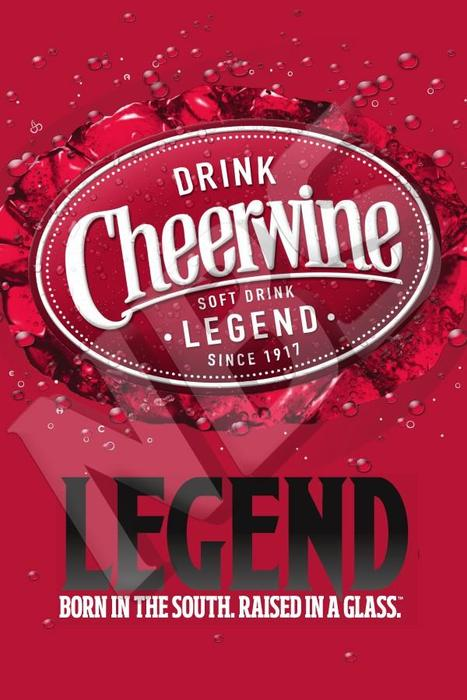 Cheerwine UF1 Decal