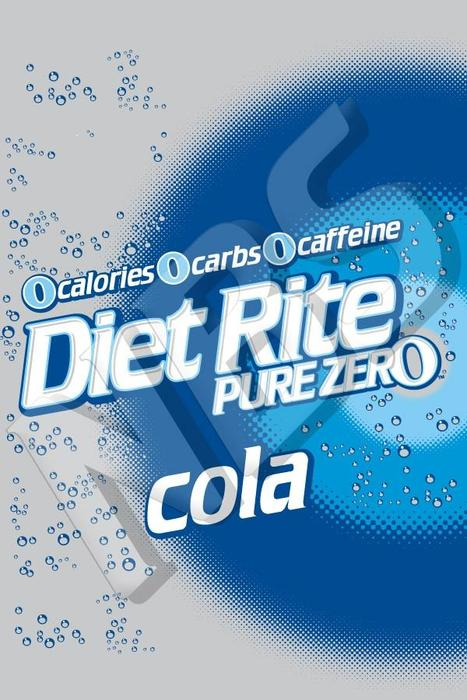 Diet Rite UF1 Decal