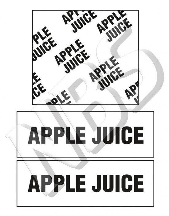 Generic Apple Juice BIB Marker