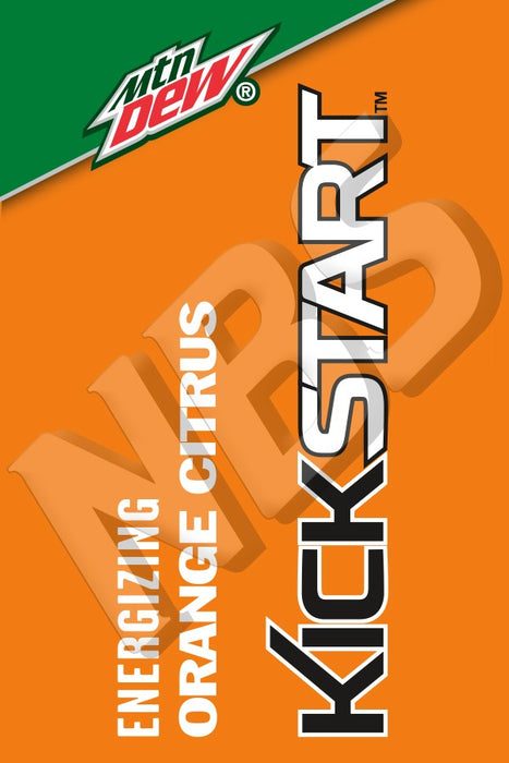 Mountain Dew Kickstart UF1 Decal