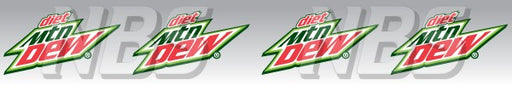Diet Mountain Dew Syrup Line Marker