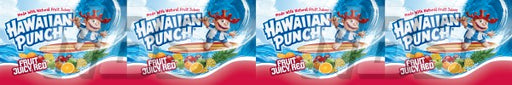 Hwaiian Fruit Punch Juicy Red Syrup Line Marker