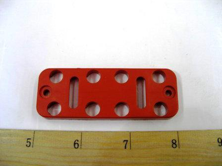 PLATE BUTTON RED