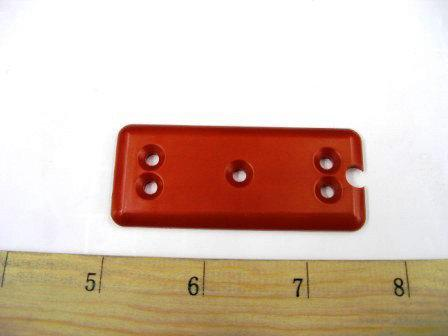 PLATE BOTTOM RED