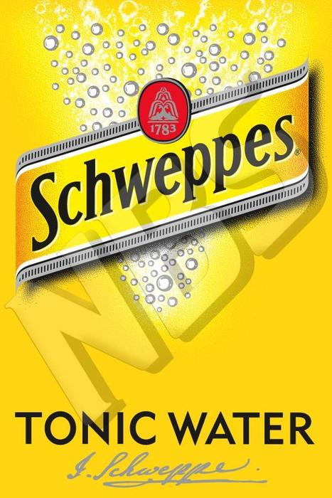 Schweppes UF1 Decal