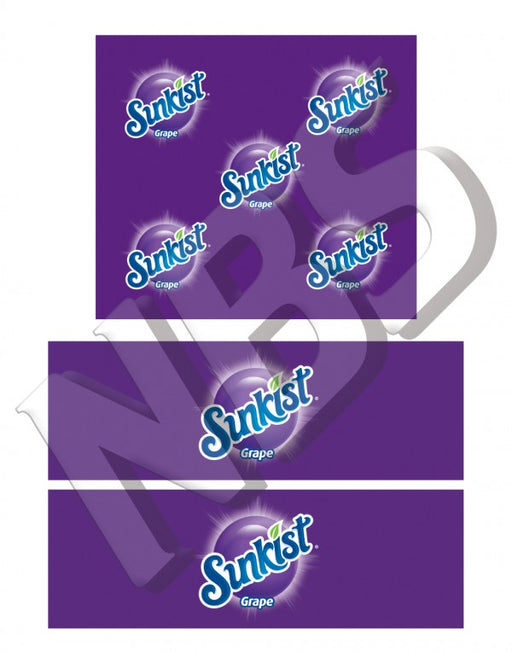 Sunkist Grape BIB Marker