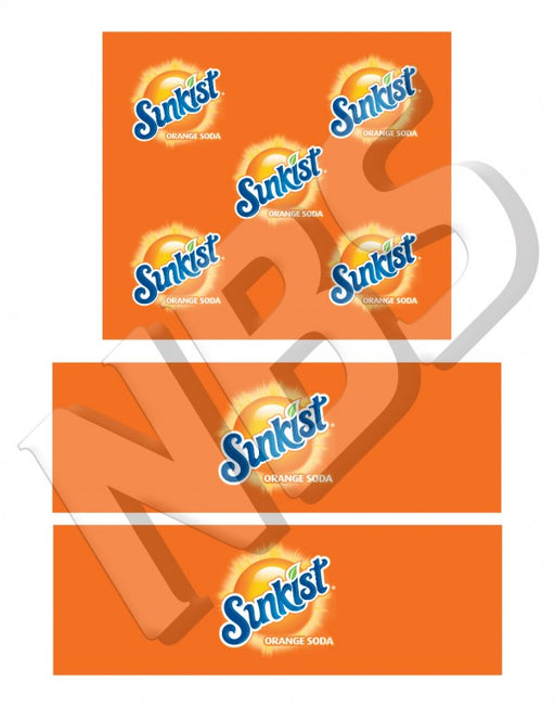 Sunkist Orange BIB Marker