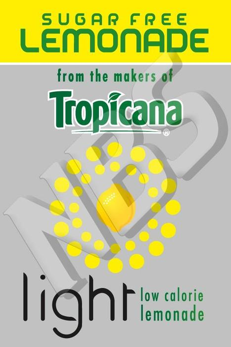 Tropicana UF1 Decal