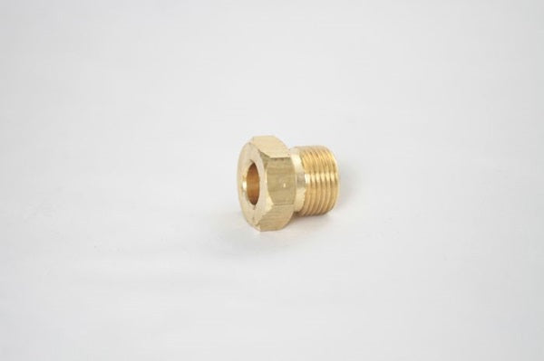 740-13N: Nitrogen Tank Nut, CGA 580, Male Threads