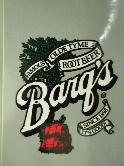 Barq's Root Beer LEV Valve Decal, 24177