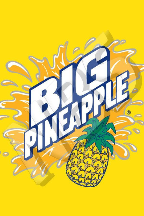 "Big Pineapple Valve Decal, VI11641918 2"" x 2 7/8"""