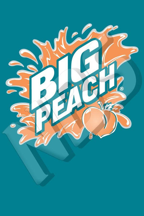 "Big Peach Valve Decal, VI11641920 2"" x 2 7/8"""