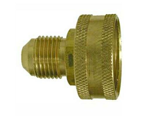 Brass 3/4 Female Garden Hose X 1/2 Male Flare Swivel, 30139, 50GHSV-8-12