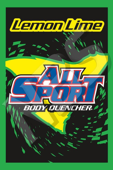 "All Sport Lemon Lime UF-1 Valve Decal, VI01641313 2"" x 2 7/8"""