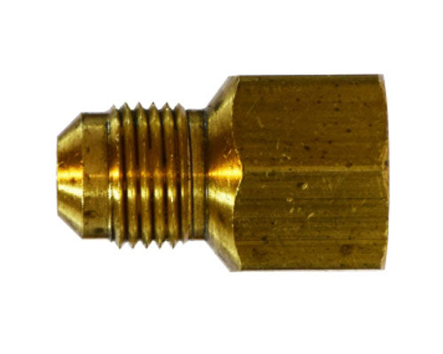 10231- Brass 1/4 Male Flare X 1/2 FIP Adapter