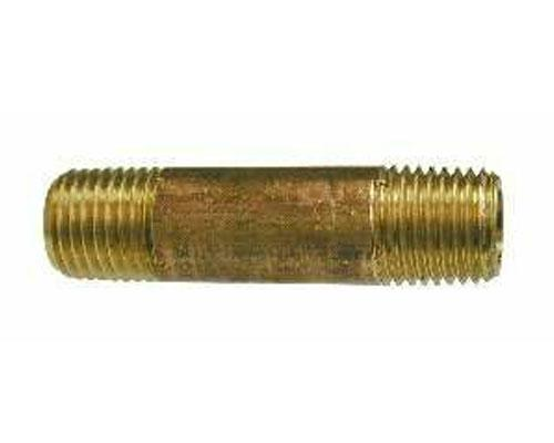"28142 : Brass 1/8 MPT Long Nipple 2.5"" Length, E215PNL-2-25"