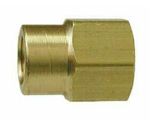 Brass 1/2 FPT X 3/8 FPT Reducing Coupler, 28185, 208P-8-6