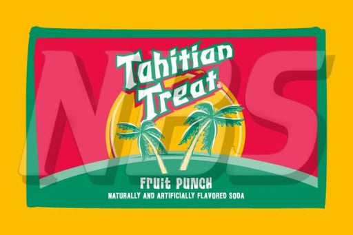 "Tahitian Treat Fruit Punch 63 UF-1 Valve Decal, VI04631834 2"" x 1 1/4"""