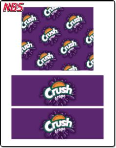Crush Grape BIB Line Marker, CP041115