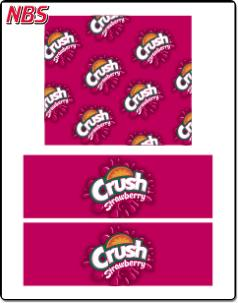Crush Strawberry BIB Line Marker, CP041117