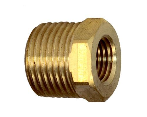 1/2 MPT X 1/4 FPT Hex Pipe Bushing
