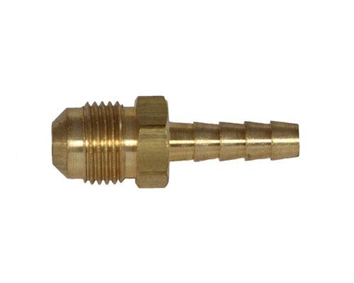 Brass 1/4 Barb X 3/8 MFL Adapter