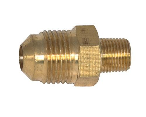 Brass 3/8 MFL X 1/8 MPT Connector