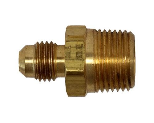 Brass 1/4 MFL X 3/8 MPT Connector
