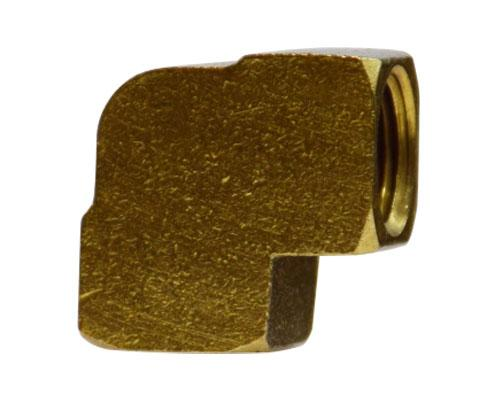 28003 : Brass 3/8 FPT Pipe Elbow BAR STOCK