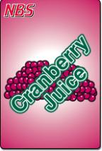 Cranberry Juice UF-1 Fountain Valve Decal, VI05643043