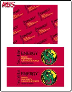 Sobe Energy Power Fruit Punch BIB Line Marker, CP011236