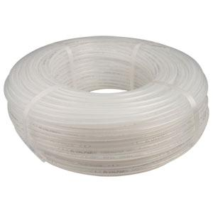 "549BT-500: 0.320"" I.D. 500' TranslucentNon Braided Barrier Hose .437"" OD(uses clamp size 13.3)"