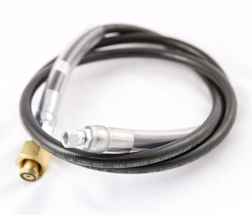 7000-3A- High Pressure Hose Assembly, 3' Length, 1/4Female Flare Swivel x CGA320 CO2 Fitting