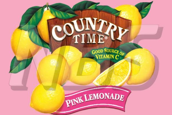 "Country Time Pink Lemonade 63 UF-1 Valve Decal, VI04631842 2"" x 1 1/4"""